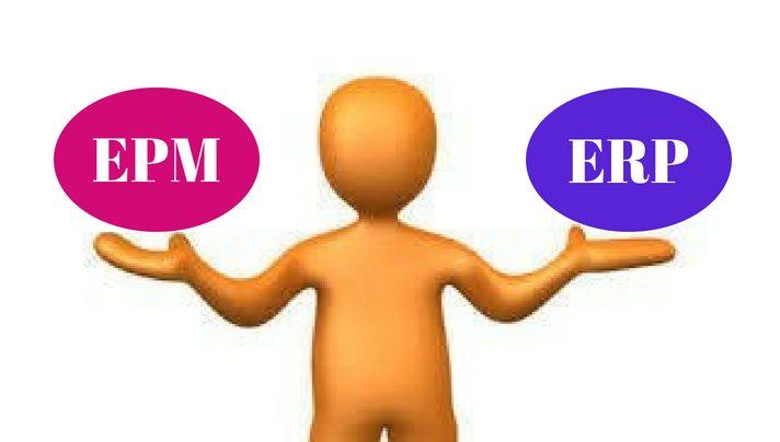 Verschil tussen ERP en EPM