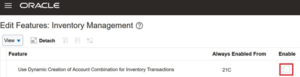 Oracle release 21A offers users the possibility to enter multiple e-mail addresses on the purchase order