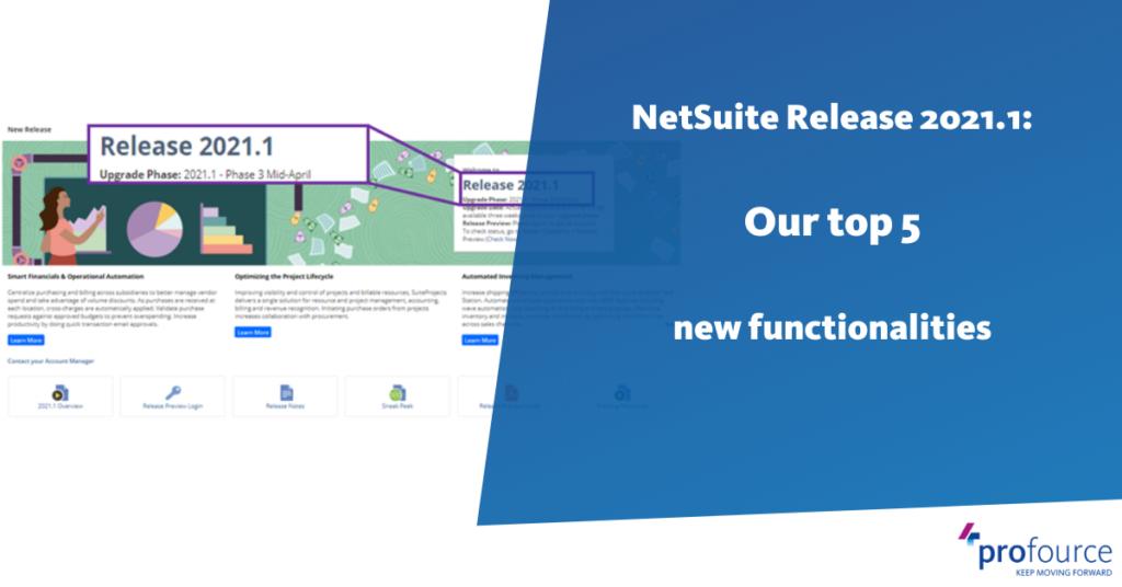 NetSuite 2021.1 release